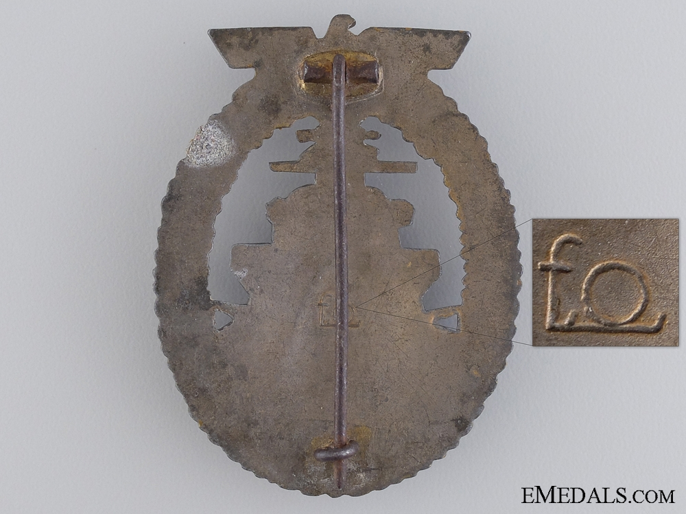 A High Seas Fleet Badge by Friedrich Orth, Wien