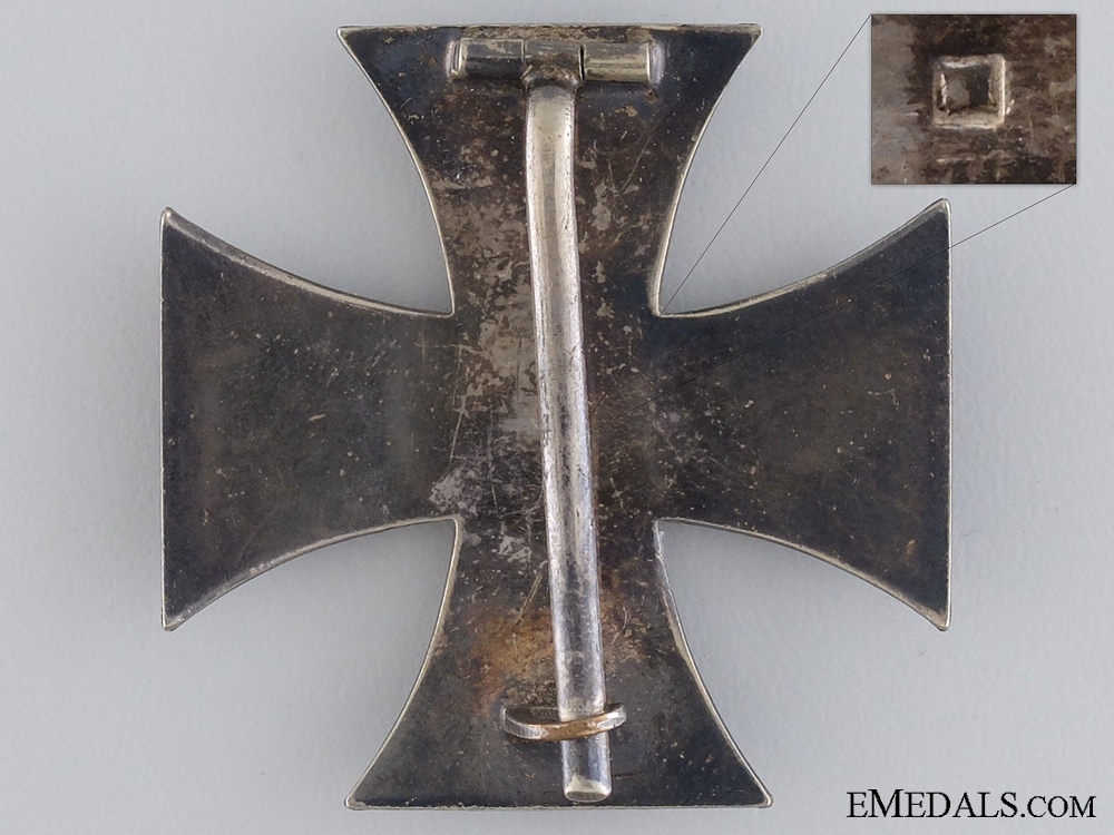An Iron Cross First Class; Maker Marked