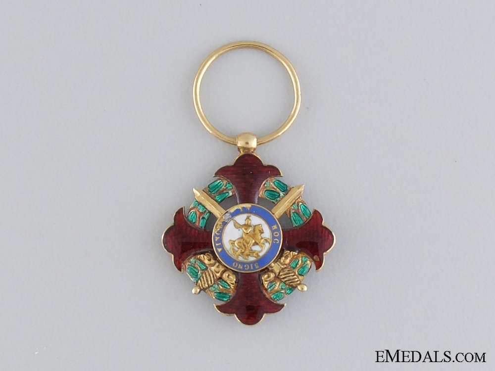 A Royal Military Order of St. George; Kingdom of Two Sicilies