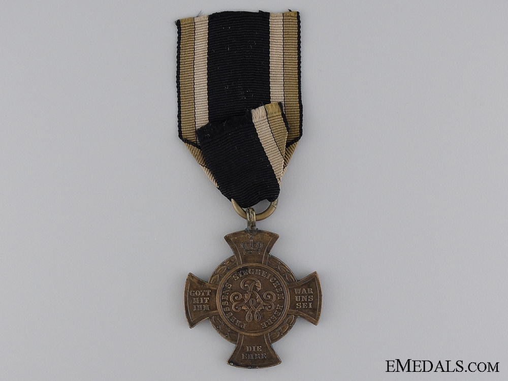 An 1866 Prussian War Medal; Type III