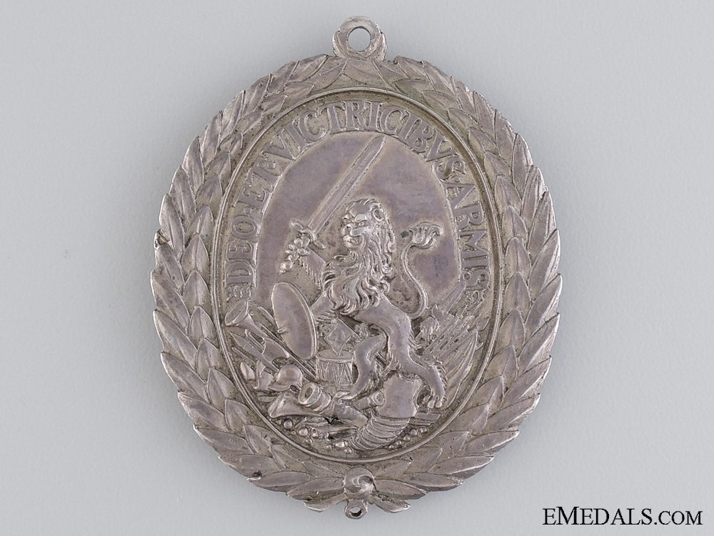 A 1611-1632 Swedish Bravery Medal; Gustav Adolf II
