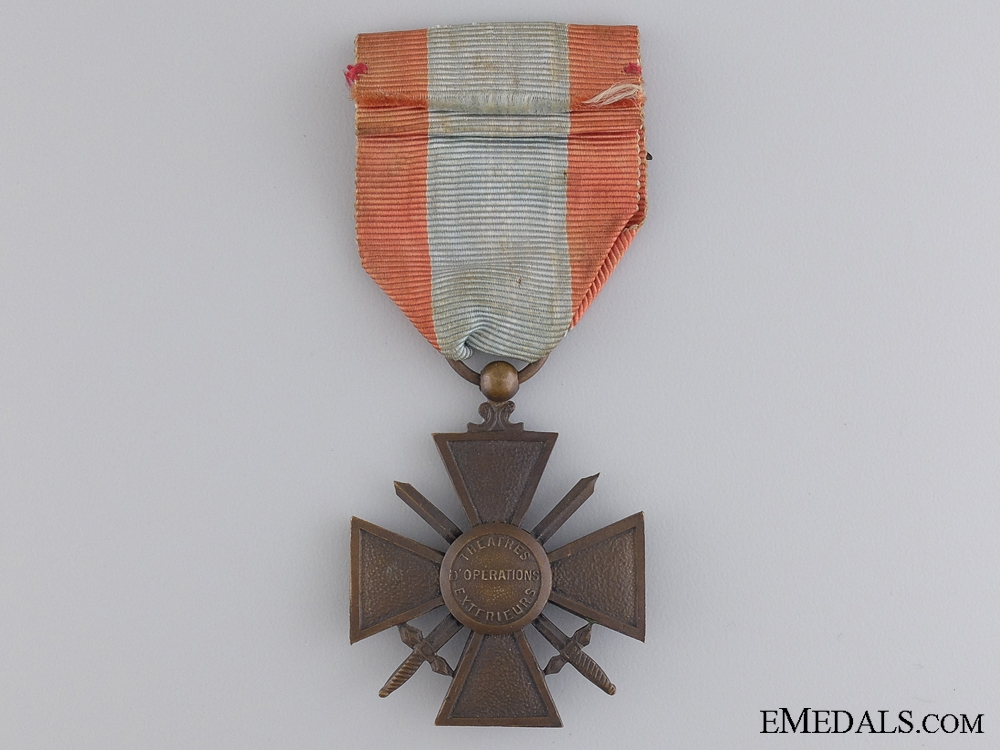 A French War Cross for Exterior Theatres of Operations