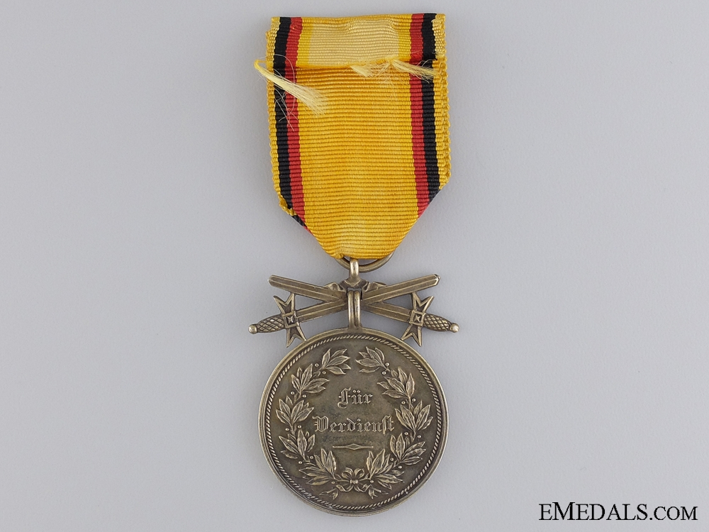 A First War Reuss Merit Medal; Gold Grade