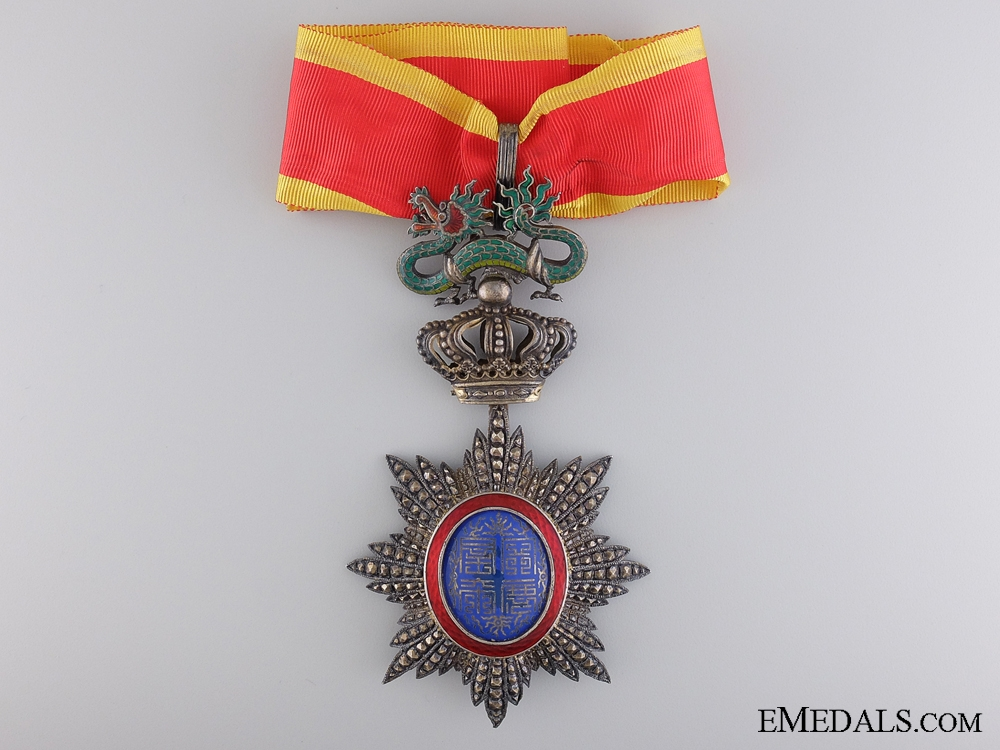 An Indochinese Order of the Dragon of Annam; Commander