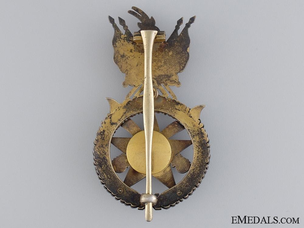 An Albanian Order of Scanderbeg; Officer's Badge