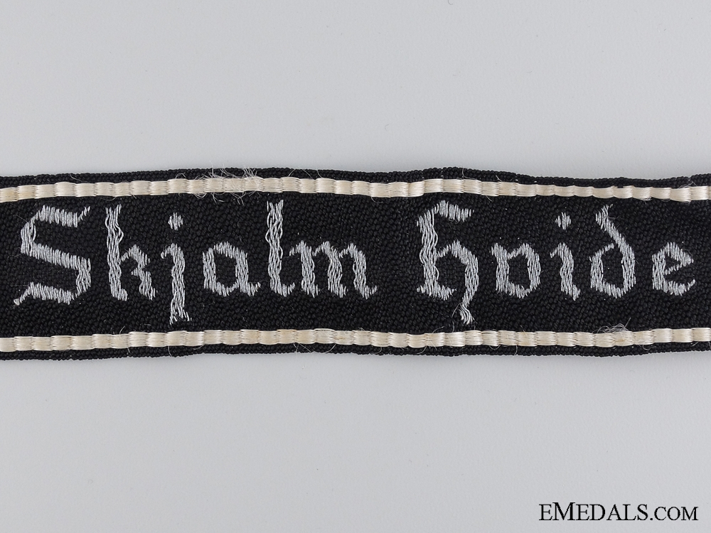 A Danish Schalburg Corps Company Cufftitle; Skjalm Hvide