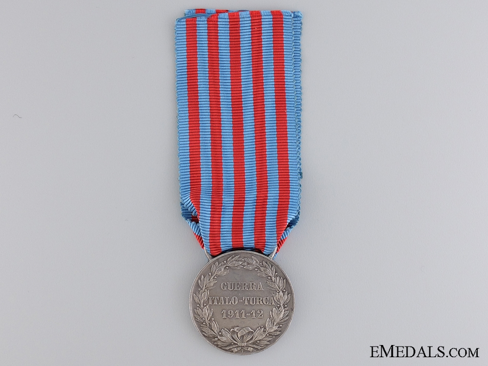 A 1911-1912 Italo-Turkish War Medal  by L.Giorgi