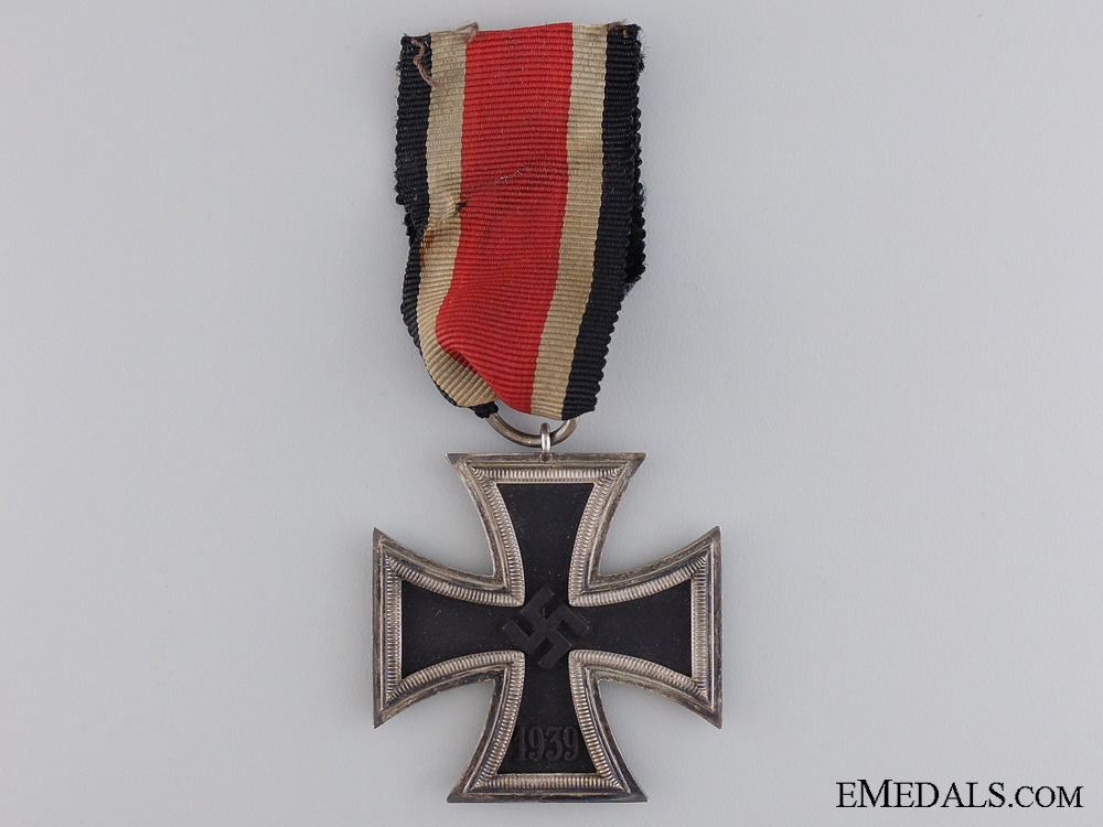An Iron Cross Second Class 1939 by Moritz Haupt