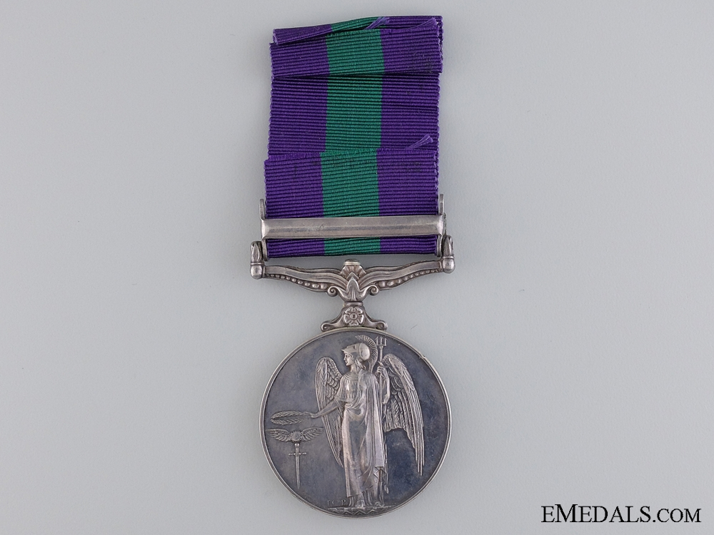 A General Service Medal 1918-1962 to Police Constable A. Arif