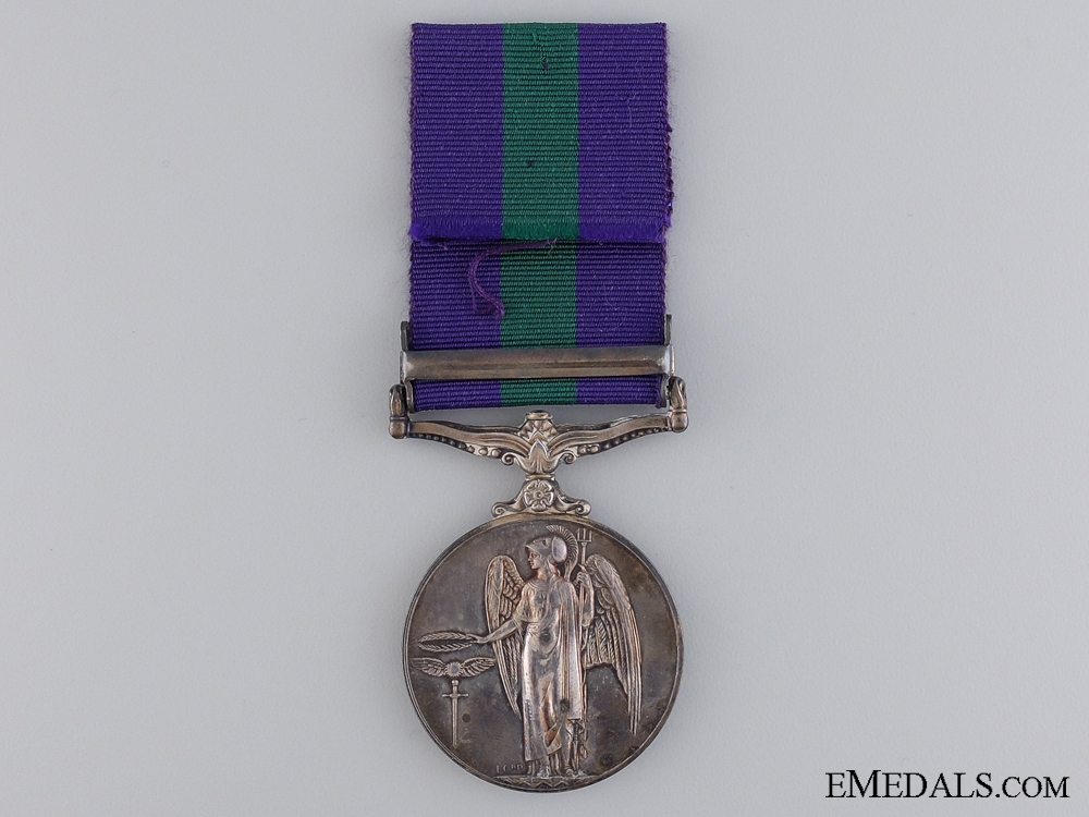 A General Service Medal 1918-1962 to the South Wales Borderers