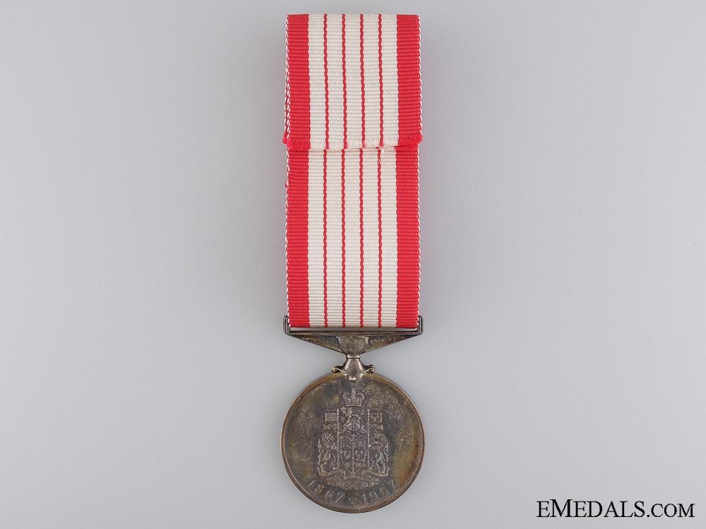 1867-1967 Canadian Centennial Medal