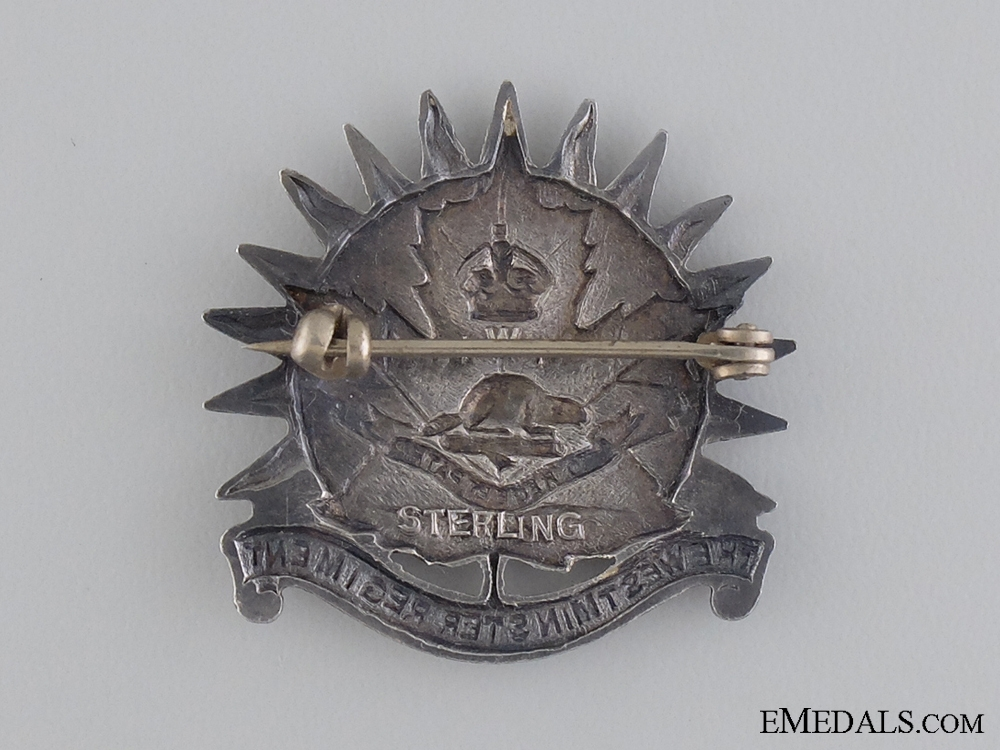 A Second War Canadian Westminster Regiment (M.G.) Pin