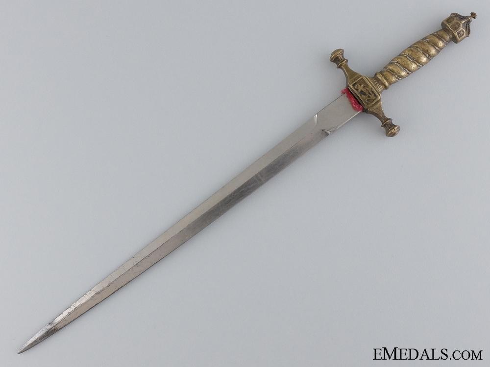A German Imperial Kreigsmarine Officer's Miniature Dagger