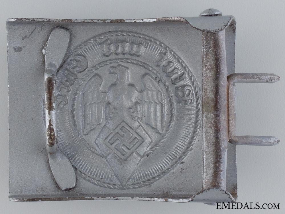 A HJ Belt Buckle
