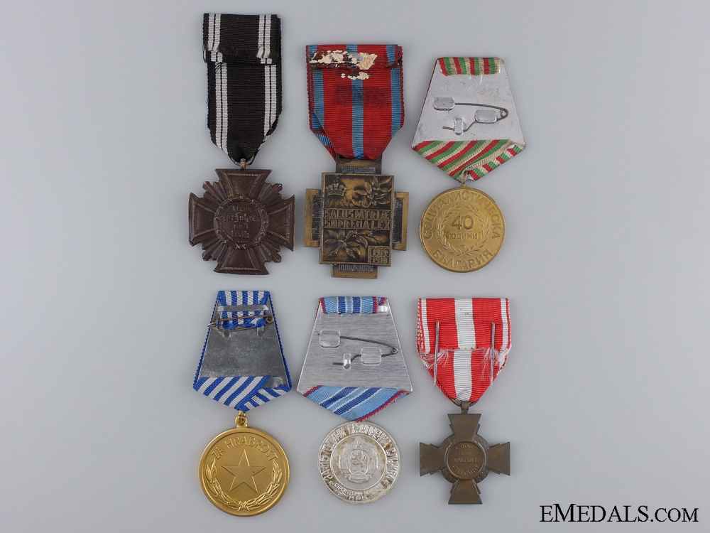 Six European Awards
