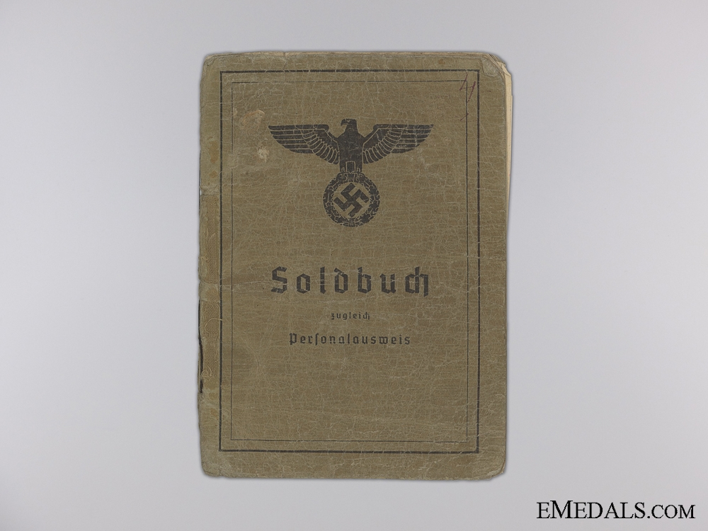 The Army Soldbuch of Korke; Battle of Kursk