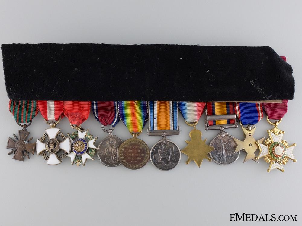 The Miniature Awards of Admiral Sir John Kelly