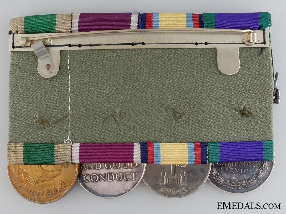 A Gulf War Campaign Medal Bar to Major Webb Royal Artillery  consign #20