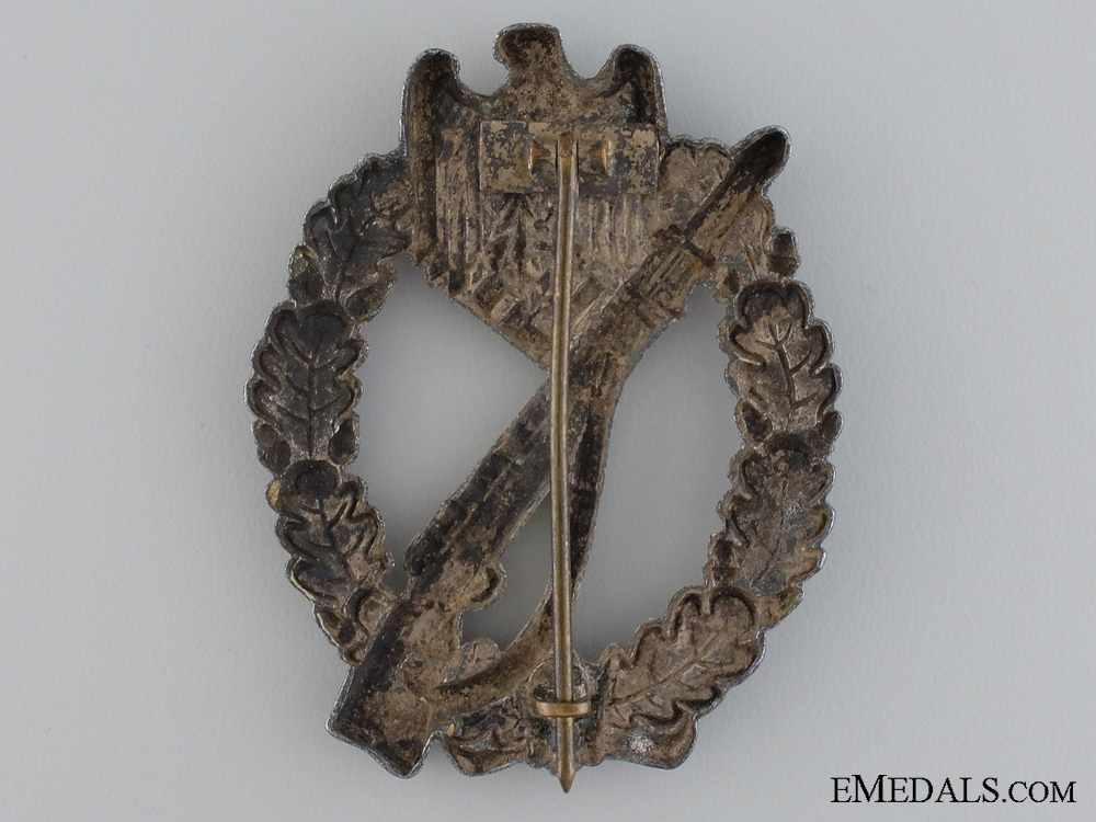 A Heer Infantry Badge; Silver Grade