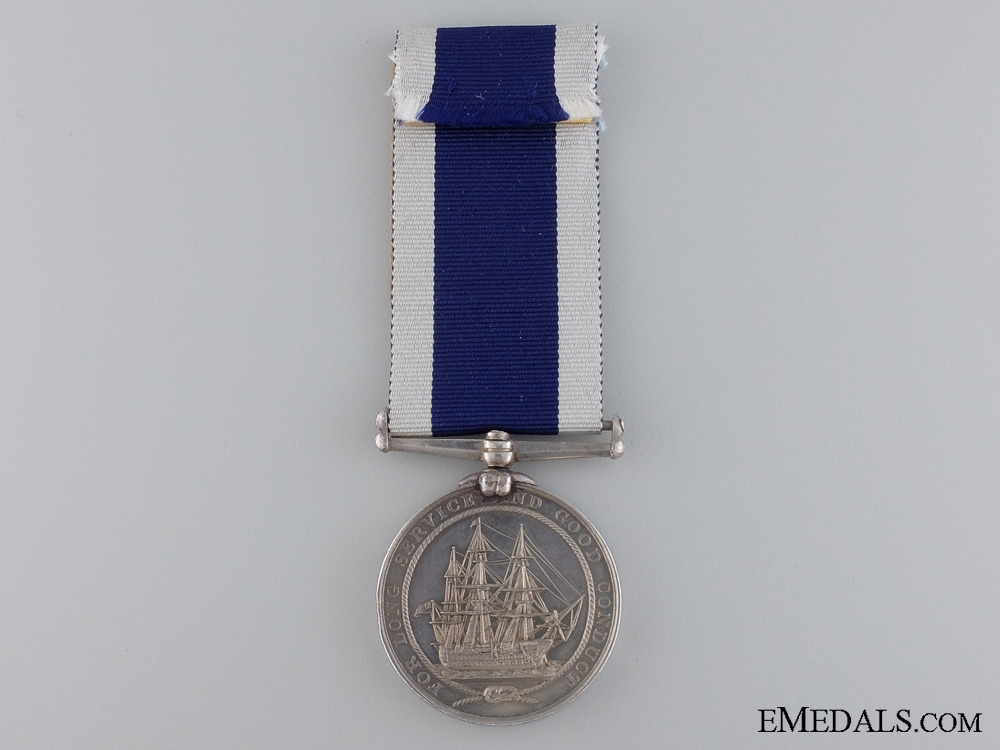A Victorian Royal Naval LS & GC Medal to the Coast Guard