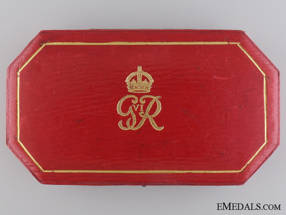A GVI George Medal Case of Issue