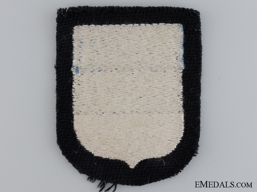 An Estonian Waffen-SS Volunteer's Shield