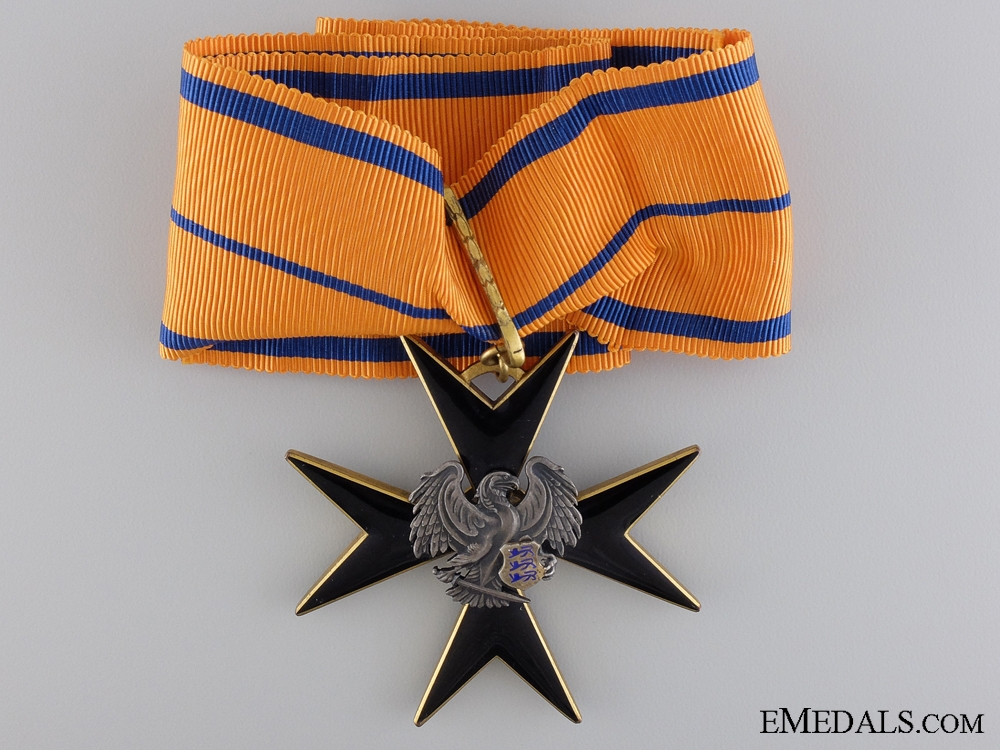 An Estonian Order of the Black Eagle;Second Class