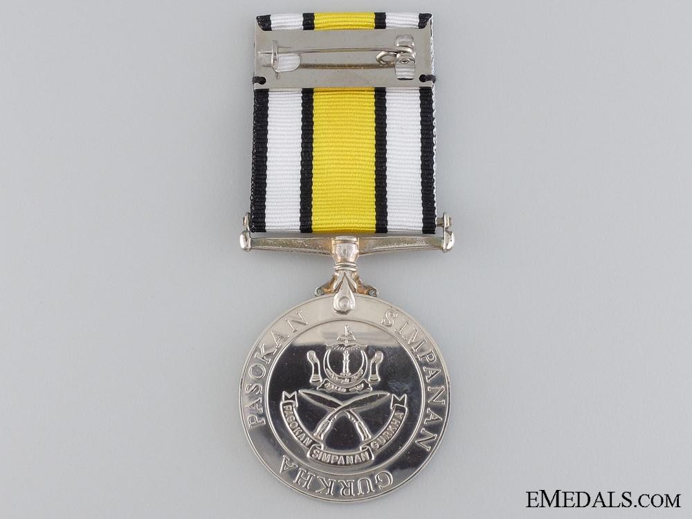 A Brunei Gurkha Reserve Medal