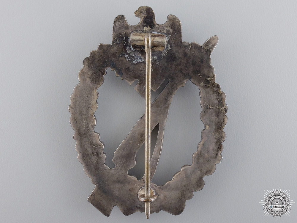 An Infantry Badge; Silver Grade