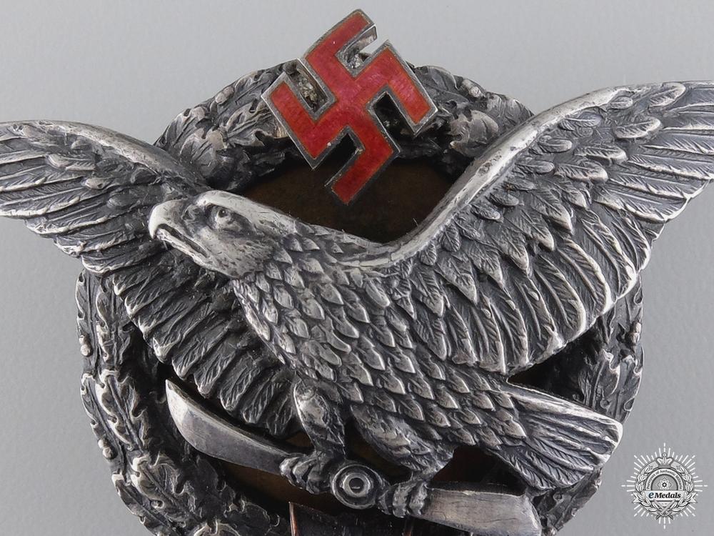A Rare Latvian Army Pilot Military Aviation Academy Graduate Badge