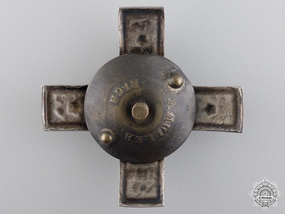 A 1920 Latvian Coastal Artillery Badge