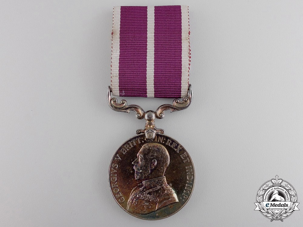 An Army Meritorious Service Medal to the Canadian Army Service Corps