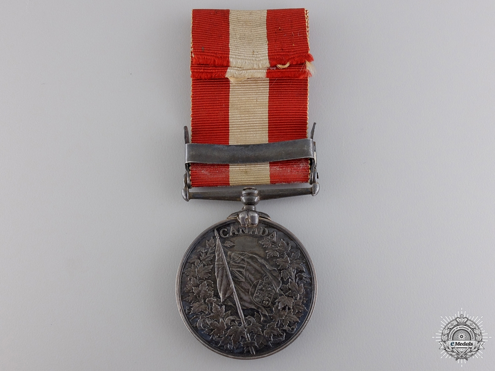 1866-70 Canada General Service Medal to the 2nd Battalion