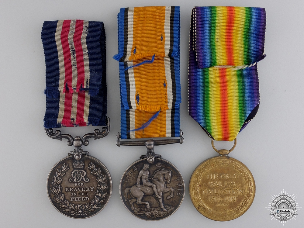 A Military Medal Group to 24th Canadian Infantry; Wounded at Vimy