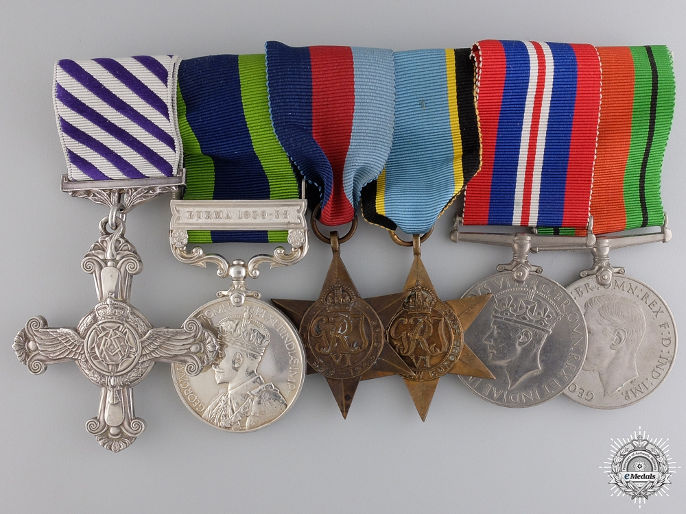 A Second World War D.F.C. Group Awarded to No. 50 Squadron in 1943-44