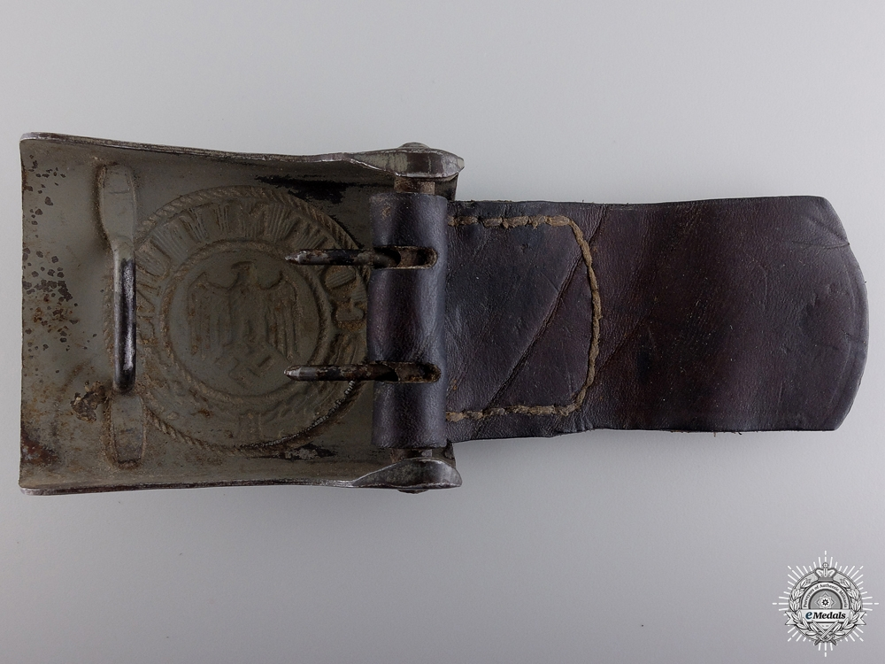 A 1941 Heer Belt Buckle with Tab