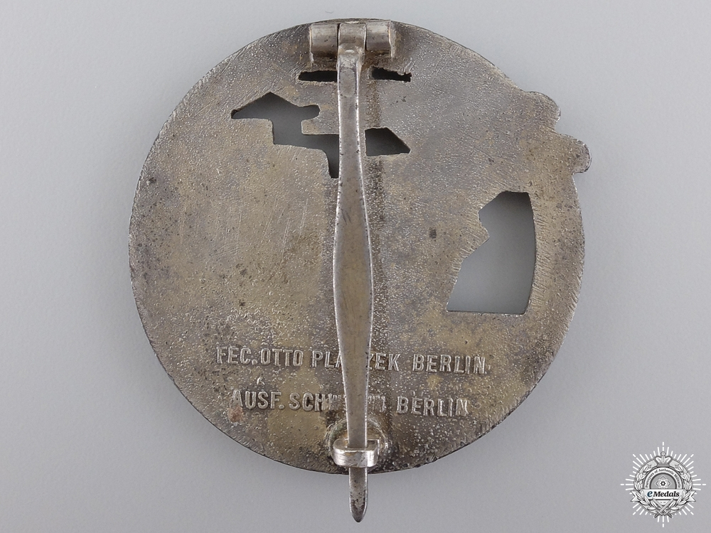 A Kriegsmarine Blockade Runner Badge by Schwerin