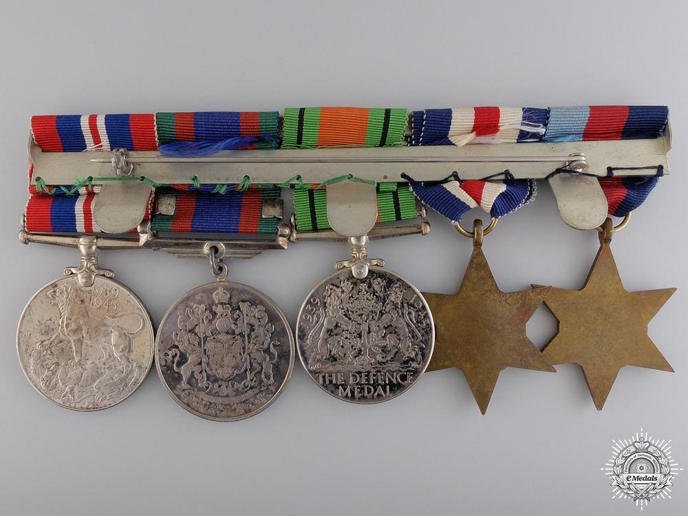 A Canadian Second War European Service Medal Bar