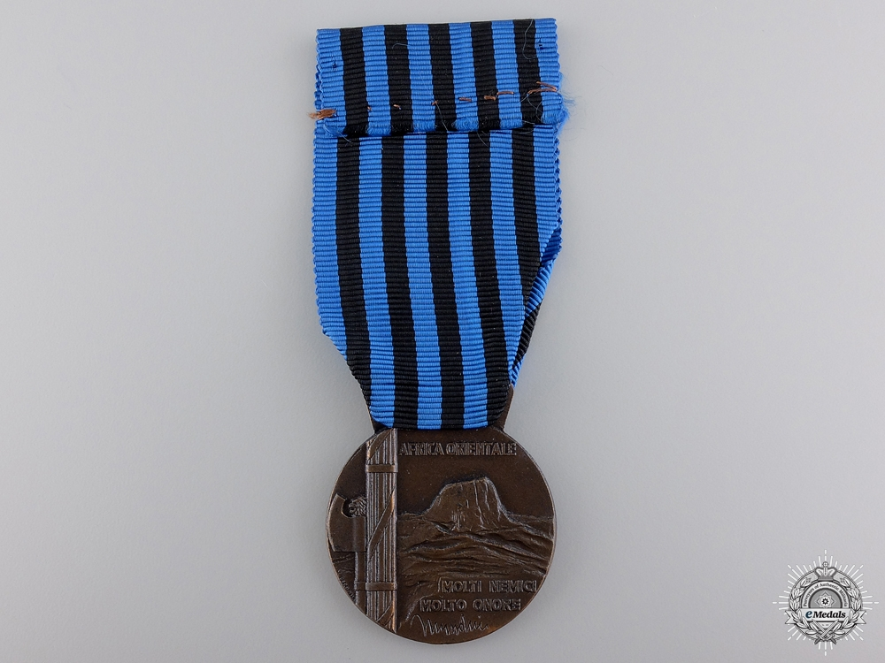 An Italian Second War Africa Campaign Medal