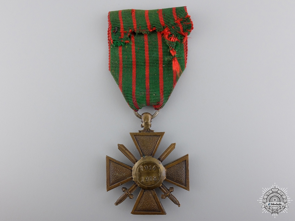 A First War 1914-18 French War Cross