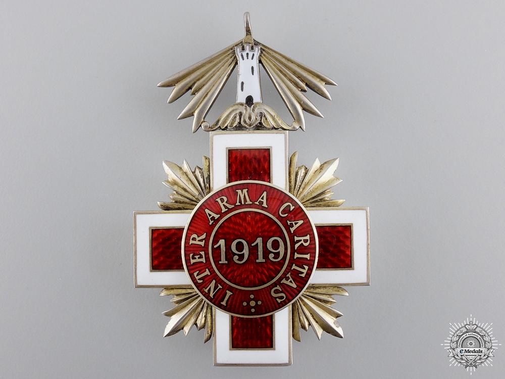 Estonia. A Red Cross Decoration, c.1918