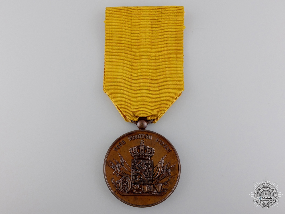 A Dutch Army Long Service Medal: Bronze Grade