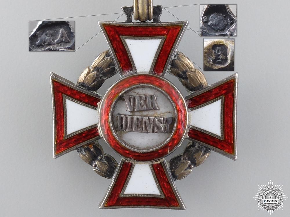 An Austrian Military Merit Cross by V.Mayer