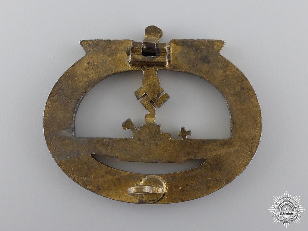 A Kriegsmarine Submarine War Badge