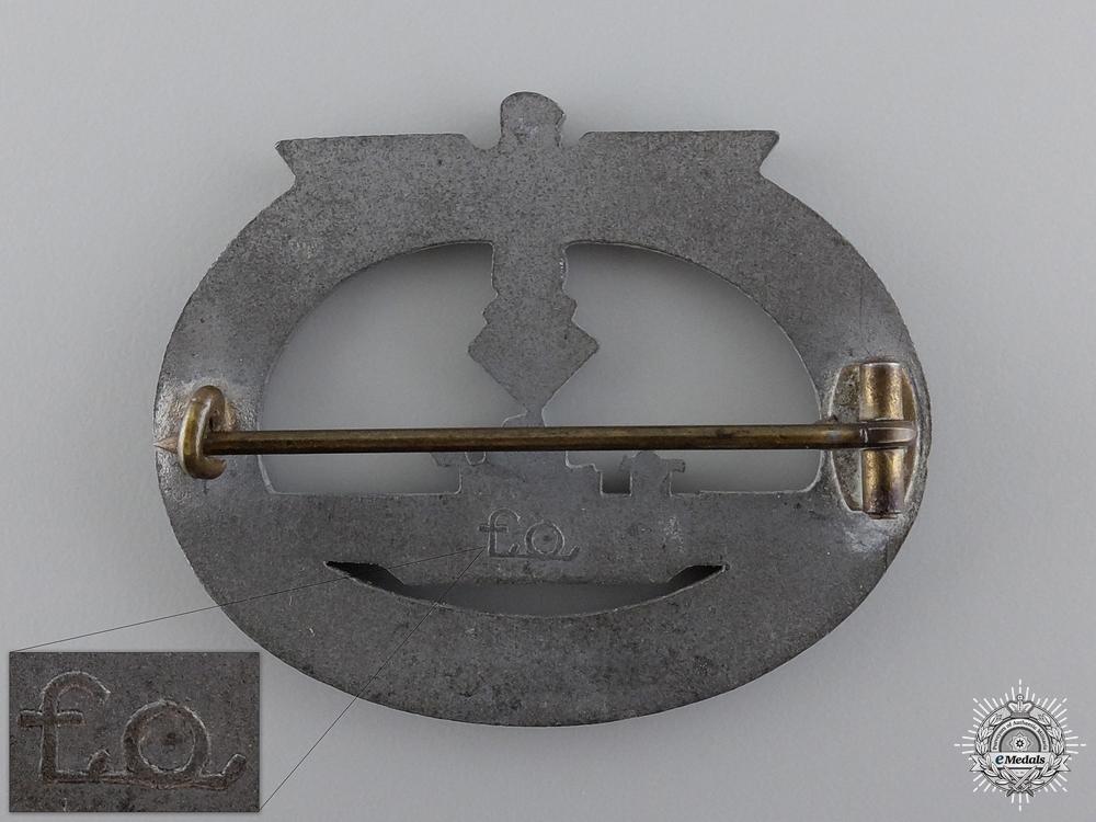 A Submarine War Badge by Friedrich Orth