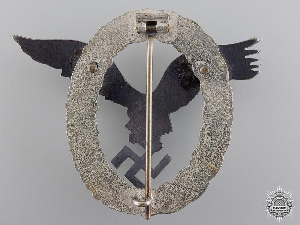 A Luftwaffe Pilot's Badge by G.H. Osang, Dresden