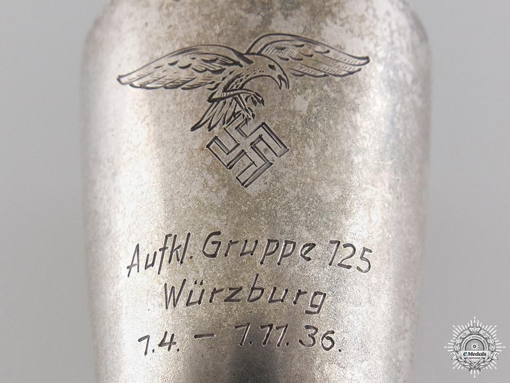 A Luftwaffe 125th Reconnaissance Group at Würzburg Award Cup 1936