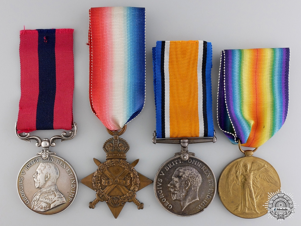 Distinguished Conduct Medal Group to Brothers Henry & George Miles