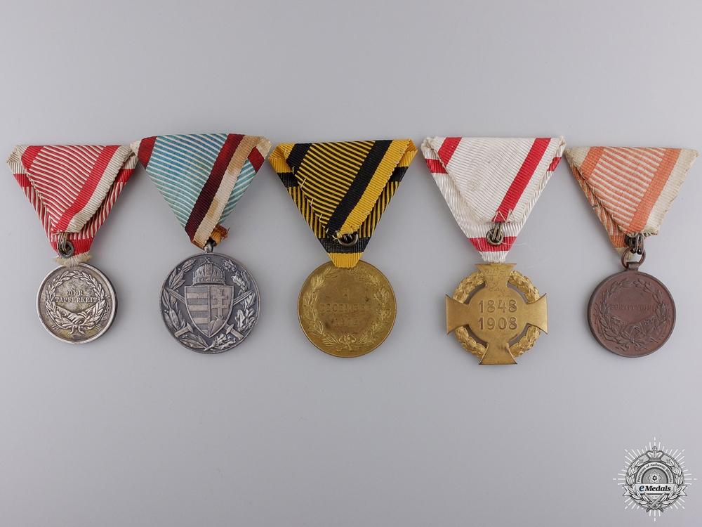 Austro-Hungarian First War Medals