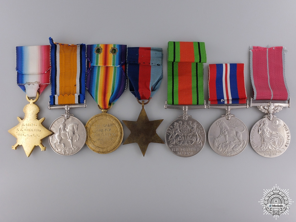 A British Empire Medal Group to the Royal Navy